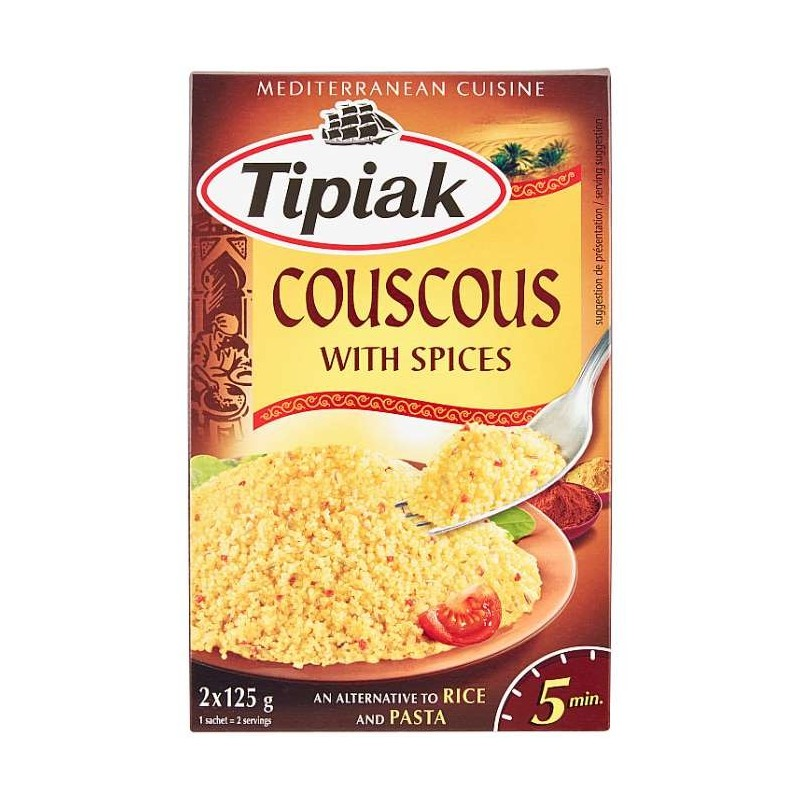 Tipiak Couscous with Spices...