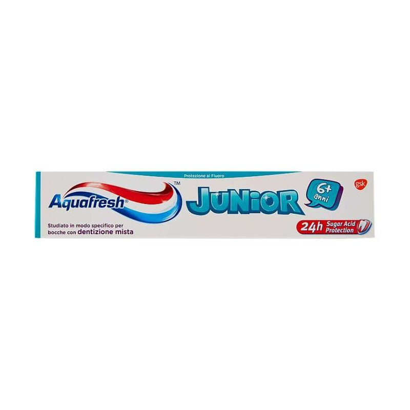 Aquafresh Junior 6+ anni 75 ml