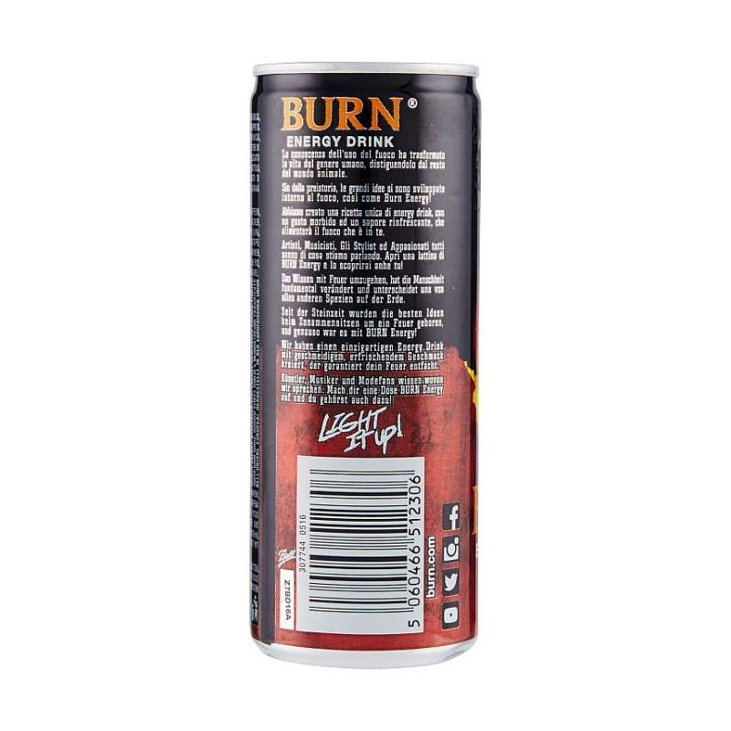 Burn Original da 0,25 ml
