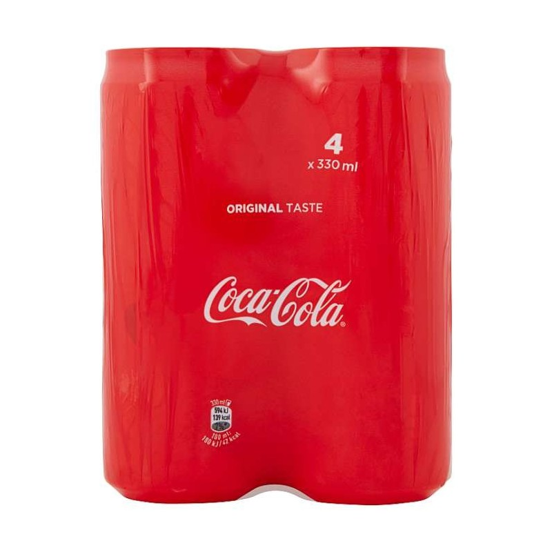 Coca-Cola lattina da 330mlx4