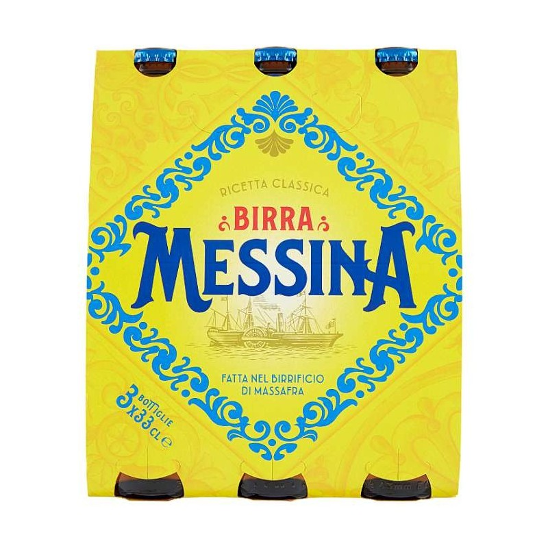 Birra Messina 3 x 33 cl